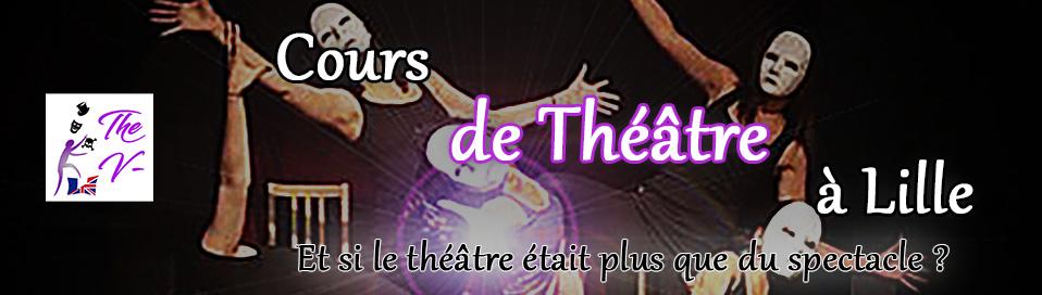 Logo des Cours de théâtre The V- à Lille