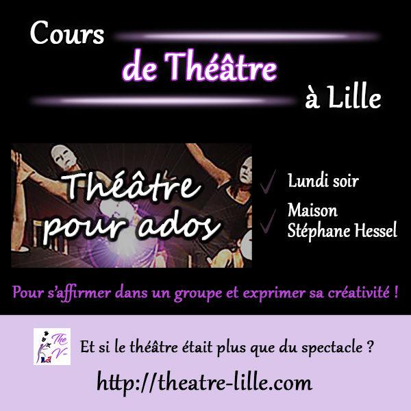 Cours de Théâtre pour ados