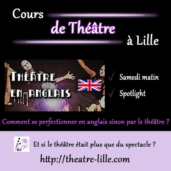 Cours de Perfectionnement de l'anglais par le théâtre