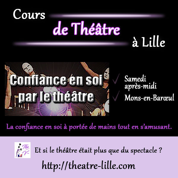 Cours de confiance en soi par le théâtre