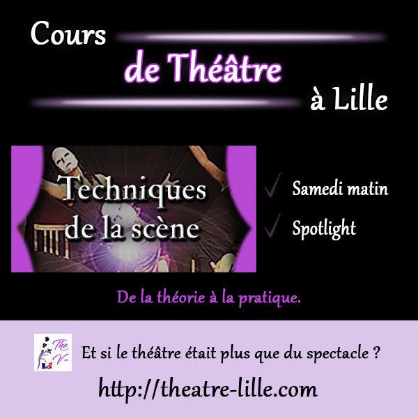Cours de Techniques du théâtre