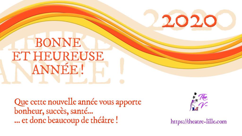 Bonne et heureuse année avec les Cours de théâtre The V-